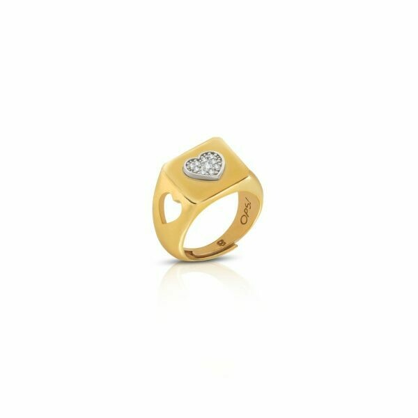 Anello Ops Icon Grace Gold