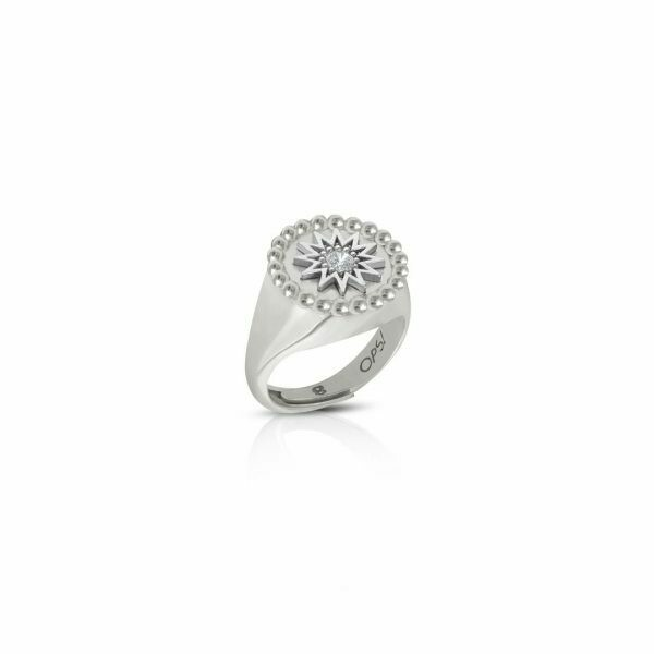 Anello Ops Icon Giselle Silver