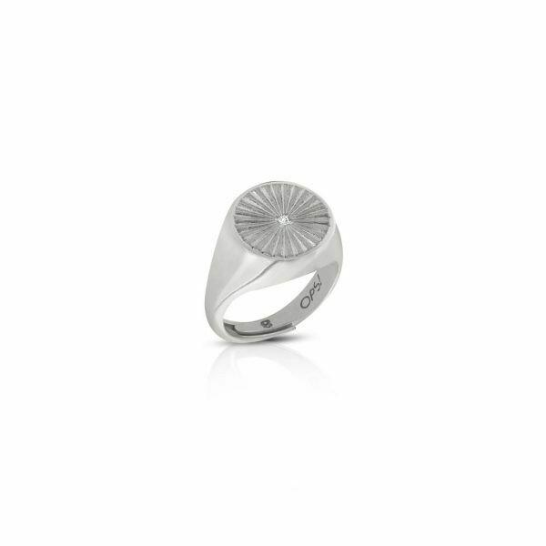 Anello Ops Icon Sunshine Silver