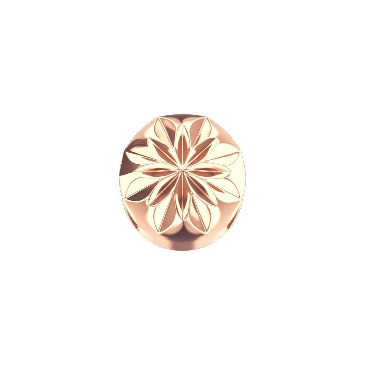 Elements Griffe Tonda Oro Rosa