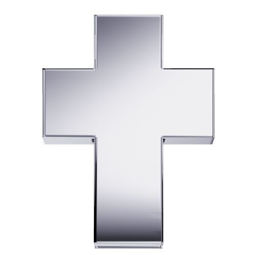 Elements Croce Oro Bianco