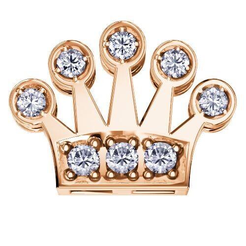 Elements Corona Oro Rosa Diamanti
