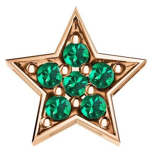 Elements Stella Oro Rosa e Smeraldi
