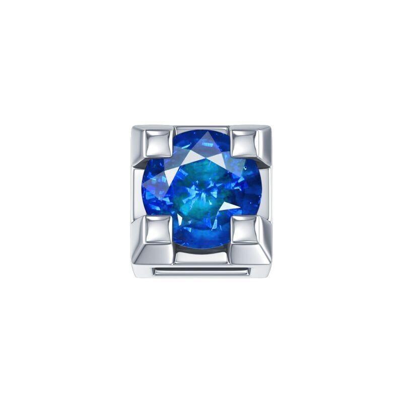 Elements Griffe Zaffiro Blu Oro Bianco