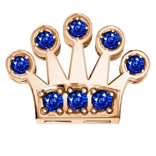 Elements Corona Zaffiri Blu Oro Rosa