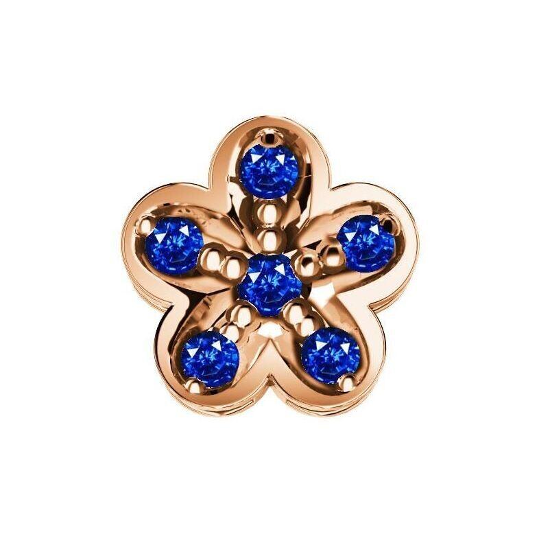Elements Fiore Zaffiri Blu Oro Rosa