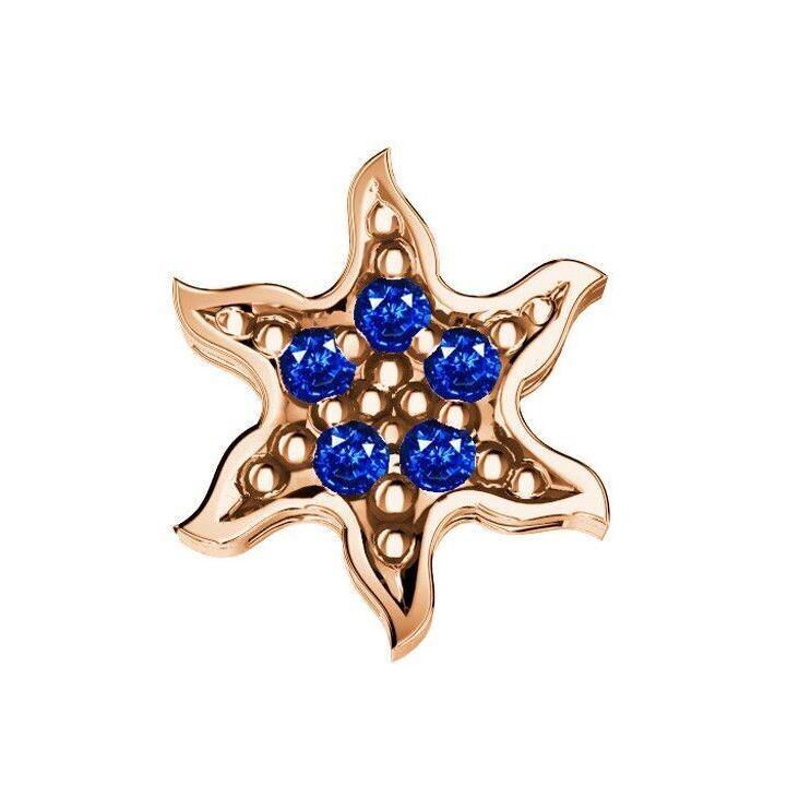 Elements Sole Zaffiri Blu Oro Rosa