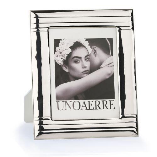 Cornice UNOAERRE portafoto in argento bianco media