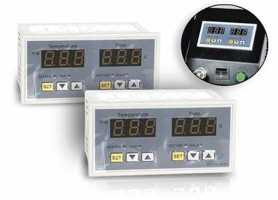 Controlador de temperatura y tiempo