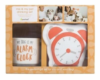 Me and My Pet Drinking Set - Alarm Clock