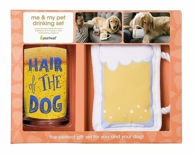 Me And My Pet Drinking Set - Hair Of The Dog