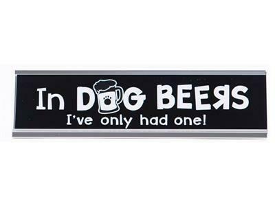 Dog Speak Desk Sign - Dog Years