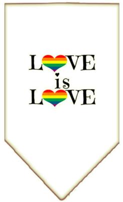 Love Is Love Pet Bandana