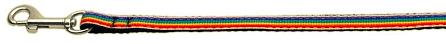 Pride Rainbow Stripe Dog Leash