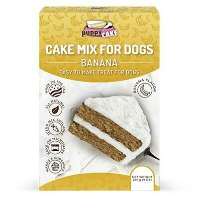 Cake Mix And Frosting For Dogs - Banana