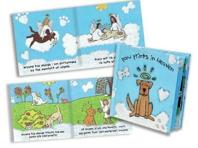 Pet Bereavement Book - Paw Prints In Heaven