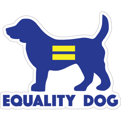 Equality Dog Decal