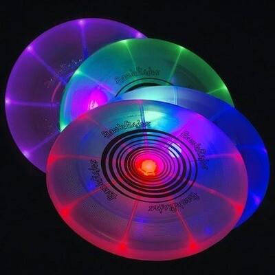 FlashFlight LED Light Up Flying Disc For Dogs