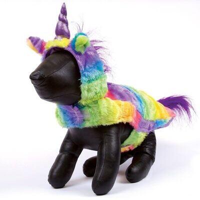 Zack And Zoey Rainbow Unicorn Dog Costume
