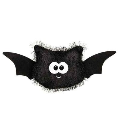 Zanies Halloween Fuzzles Bat Dog Toy