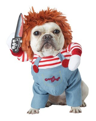 Deadly Doll Pet Halloween Costume