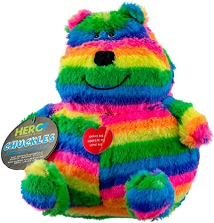 Hero Chuckle Bellies Bear Plush Dog Toy