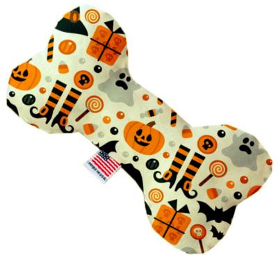 Classic Halloween 6 Inch Bone Dog Toy