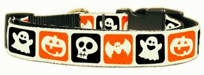 Classic Halloween Nylon Dog Collar