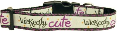 Wickedly Cute Nylon Dog Collar