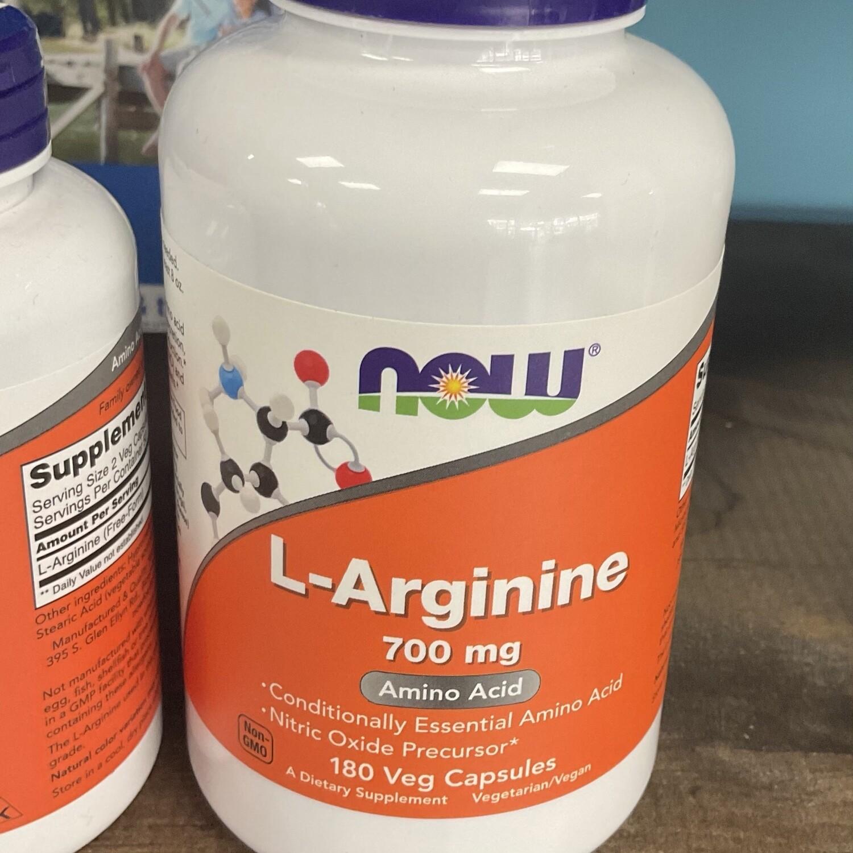 L-Arginine 700mg  180ct