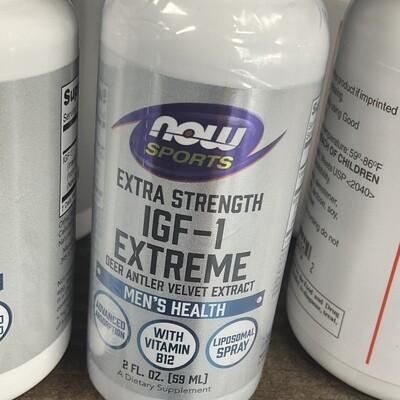 IGF-1 Extreme Deer Antler Velvet Extract 2oz
