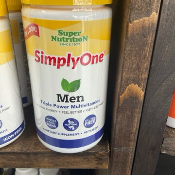 Simply One Men Iron Free 30ct