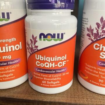 Ubiquinol CoQH-CF 50mg (60 Gels)