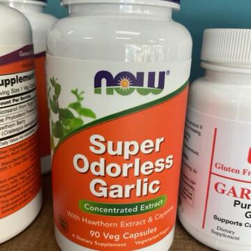 Super Odoless Garlic 90 Vcaps