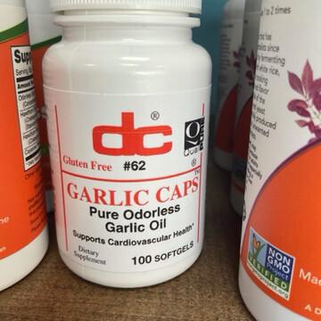 Garlic Caps  ( Pure odorless Garlic Oil )