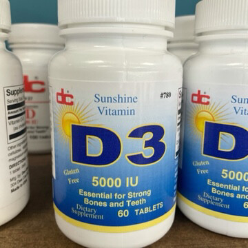 Vitamin D-3 5000 IU (90)