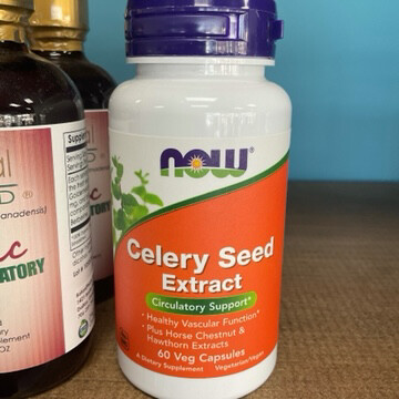 Celery Seed Extract 60ct