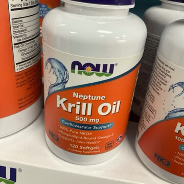 Krill Oil 500mg 120ct