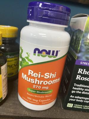 Rei-Shi Mushrooms 270mg (100Vcaps)