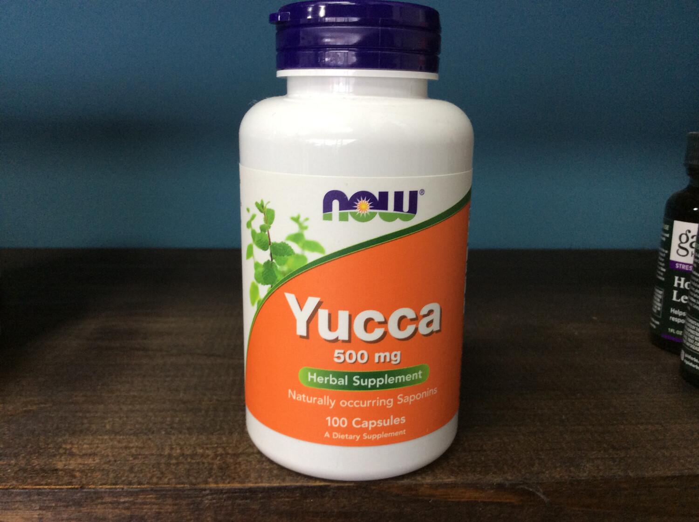 Yucca 500mg (100 caps)