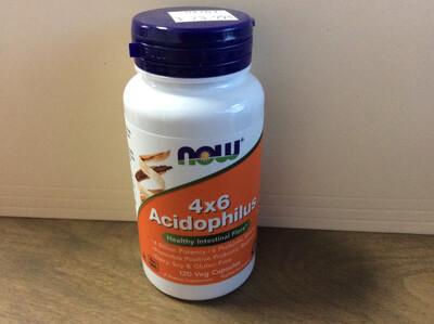 4 x 6 Acidophilus 120 Vcaps