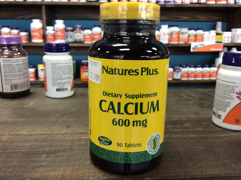 Calcium 600mg (90 tabs)