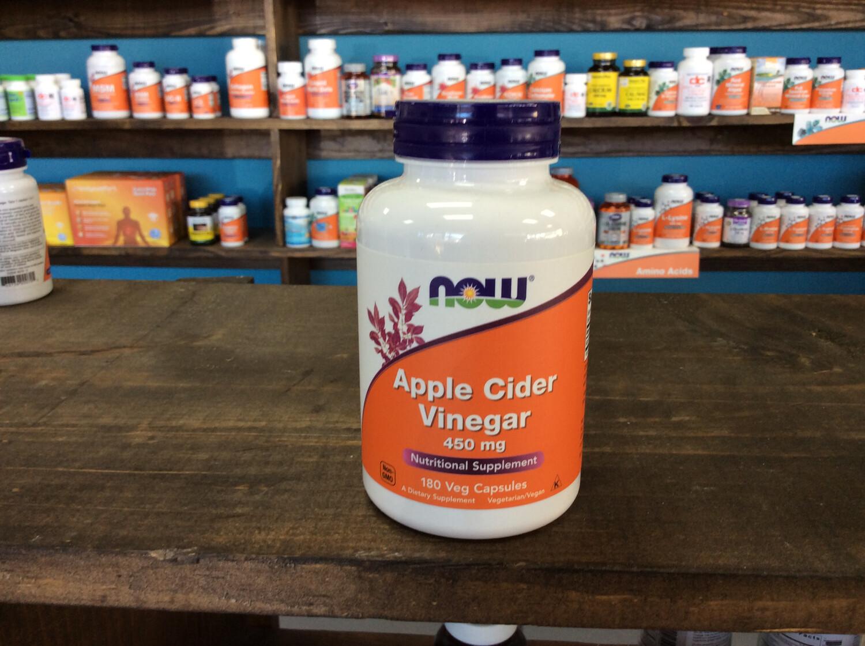 Apple Cider Vinegar 450mg (180 Caps)