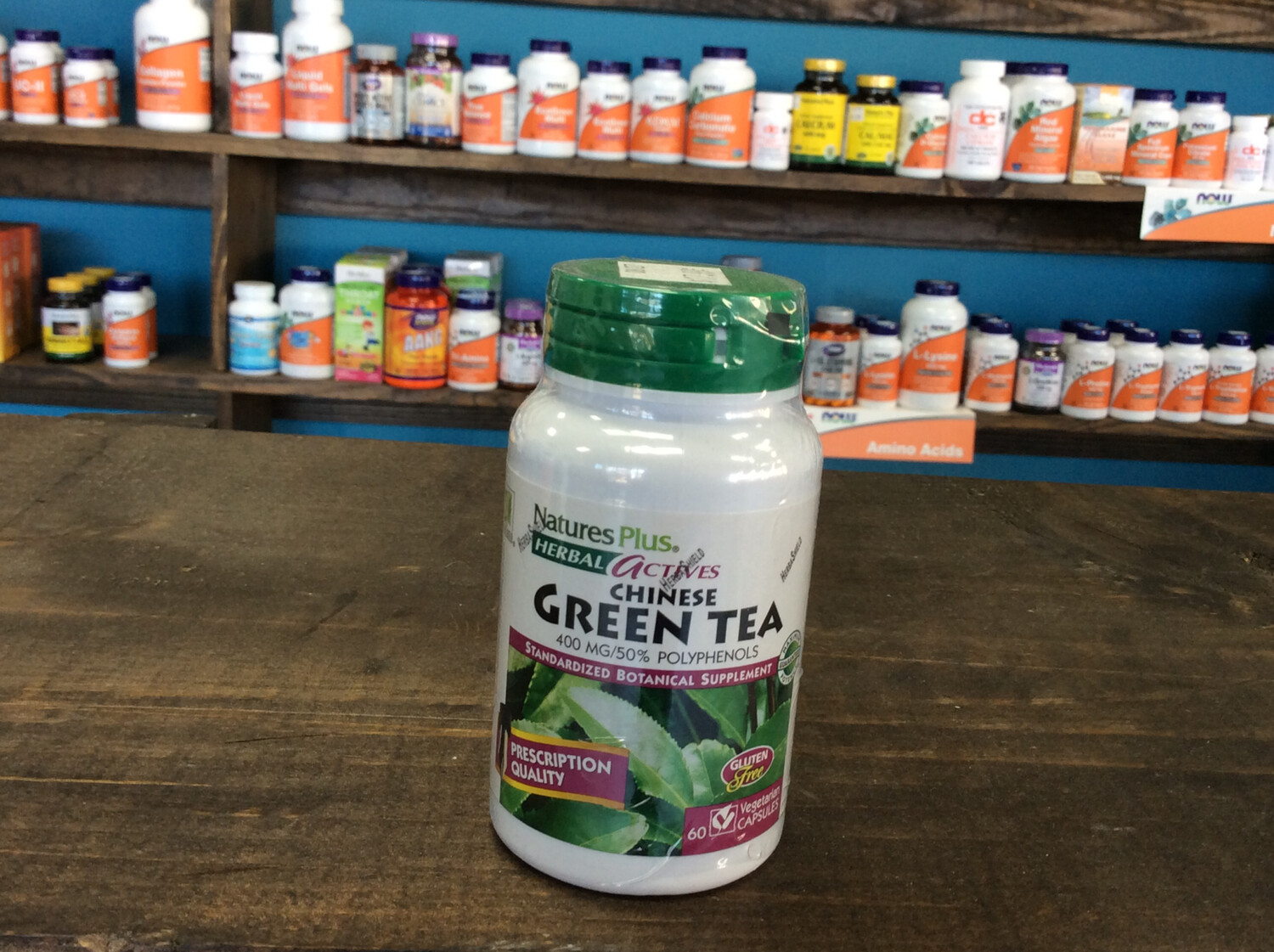 Chinese Green Tea (60Vcaps)