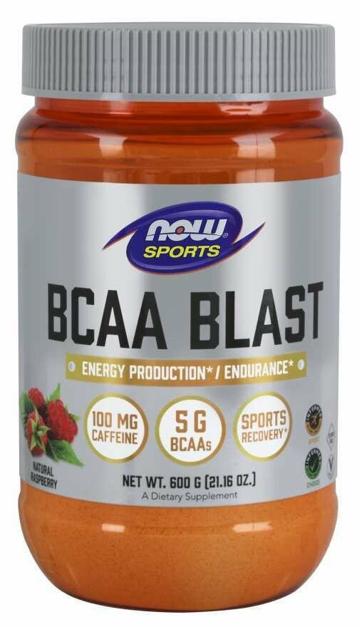 BCAA Blast PWD Raspberry 600g