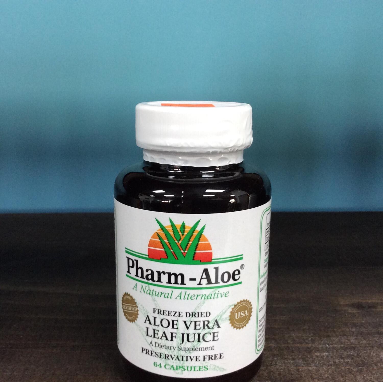 Pharm-Aloe Capsules 64 ct