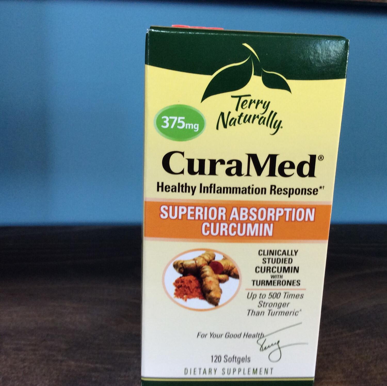CuraMed 375 mg 120 softgel