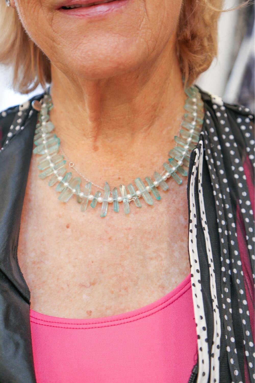 Stephanie Rein Glass Necklace