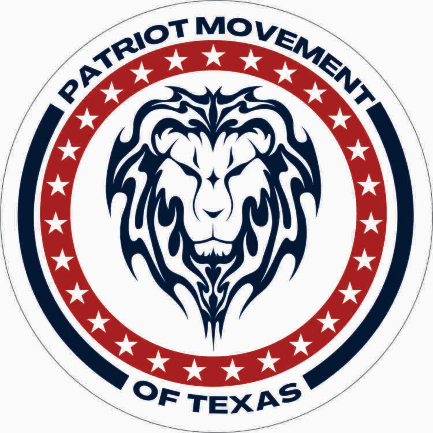 Patriot Movement of Texas Decal