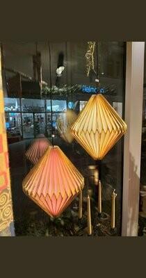 Origamipapier Lampe